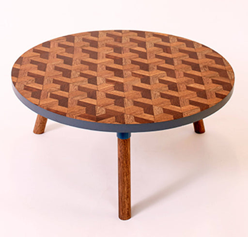 Kaowa Design Wooden Mosaic Table, Terrace 60
