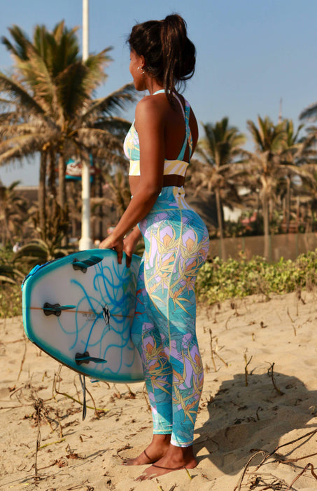 Me And The Sea Fresh Print Leggings