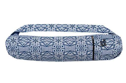 Simply Shweshwe Yoga Mat Bag, Aztec Blue
