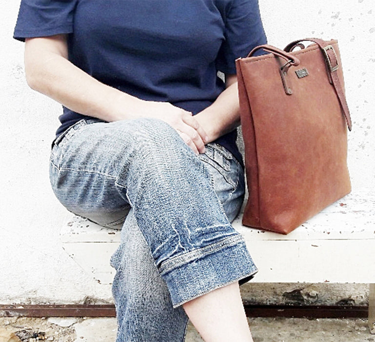 Lewis & Madge Leather Shopper Bag