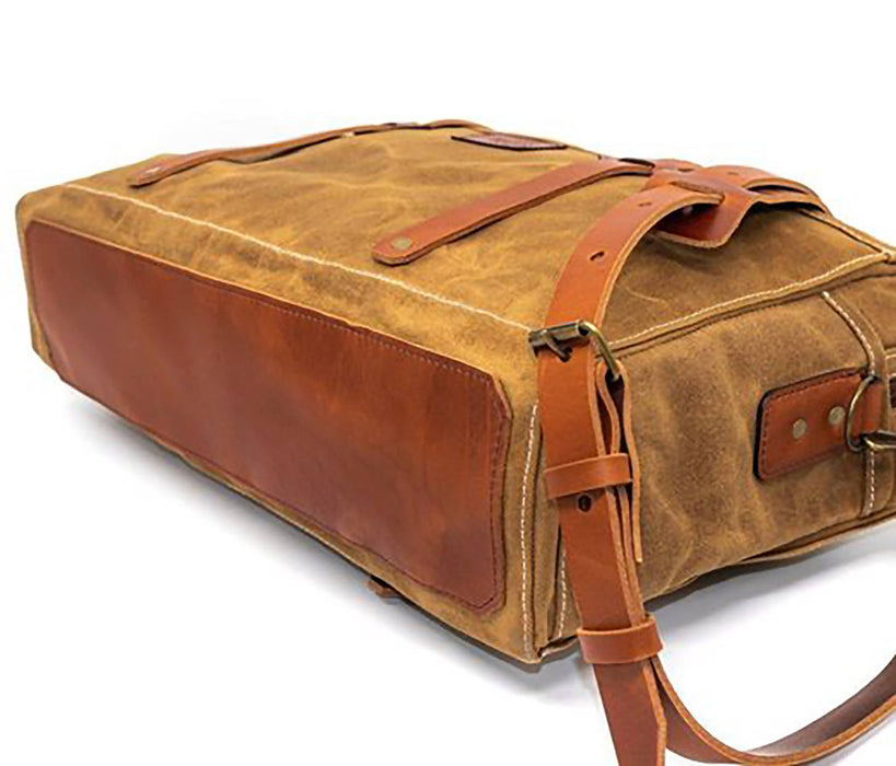 Brothers & Sons The Research Briefcase - Bushveld Tan