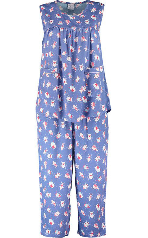 Nightire Organic Bamboo Pyjama Set - Candy Coloured Critters