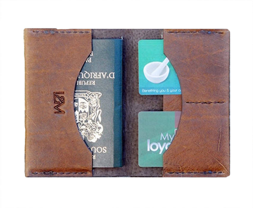 Lewis and Madge Leather Passport Holder