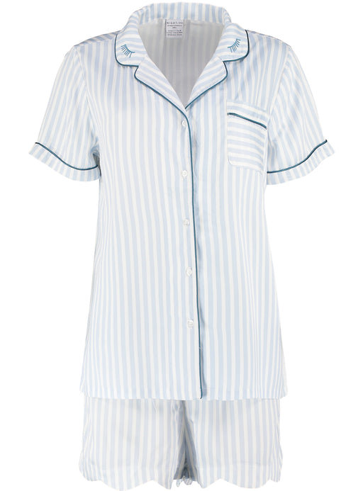 Nightire Organic Bamboo Pyjama Set - Simple Stripe