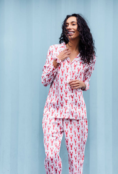 Nightire Organic Bamboo Pyjama Set - Lobster Roll