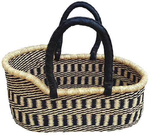 AfricanheritageGH Handmade Authentic Luxury Cat Basket