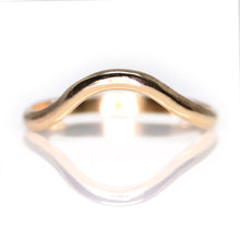 Load image into Gallery viewer, Arch Ring (14K yellow, rose, palladium white gold; multiple styles)