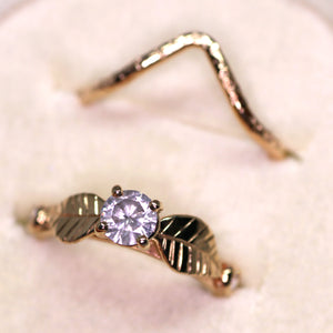 Apex Ring (14K yellow, rose, palladium white gold; multiple styles)