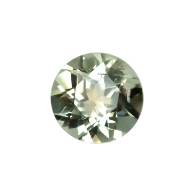 Create your own solitaire ring: 0.65ct pastel green Montana sapphire