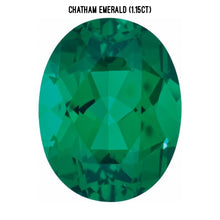 Load image into Gallery viewer, Chatham lab-grown emerald (1.15ct)