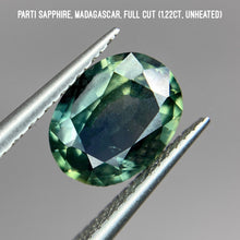 Load image into Gallery viewer, Parti sapphire, Madagascar (1.22ct)