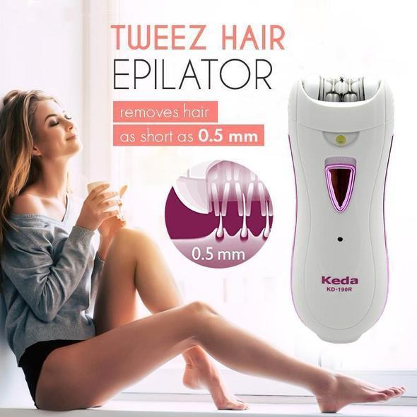 Women's Epilator Cordless Hair Epilator