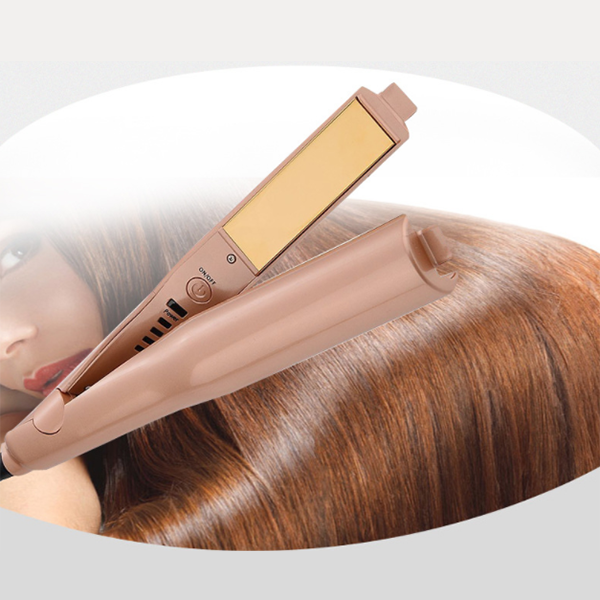 2-in-1 Twist Straightening Curling Iron-Hair tools-unishouse.com-Unishouse.com