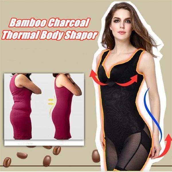 Bamboo Charcoal Thermal Body Shaper