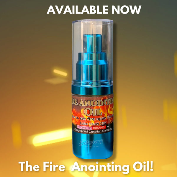 New Stocks Arrival 2020!!! -The Fire Anointing Oil