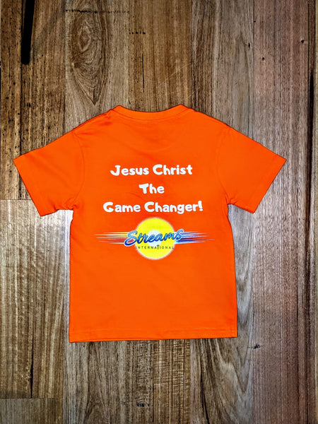 APAC Special Edition Shirt - Jesus Christ The Game Changer - Orange