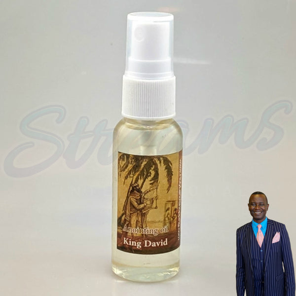 Anointing Oil - King David- Made in Israel - Small