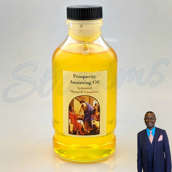 Prosperity Anointing Oil - Spikenard Henna & Cinnamon - Made in Israel