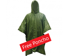 Load image into Gallery viewer, Walkstool Comfort 75cm + Free Poncho