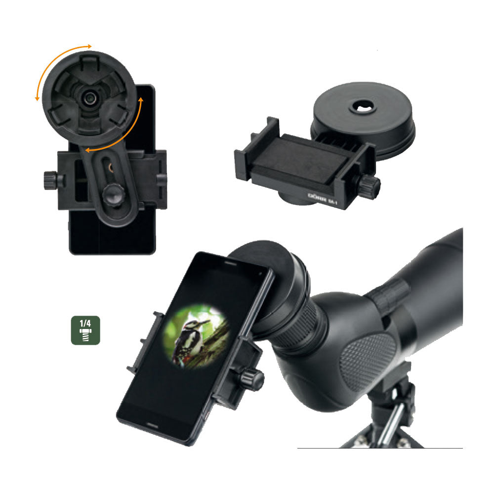 Dorr SA-1 Spotting Scope Digiscoping Adapter Smartphone Universal