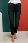 Judy Blue Shred Of Confidence Black Jeans