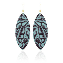 Mila Leather Earrings