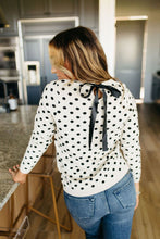 Ampersand Ave. Dot & Bow Sweater
