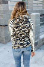 Ampersand Ave. Double Hooded Sweatshirt Camo