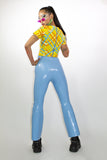 Baby Blue Bootleg Trousers