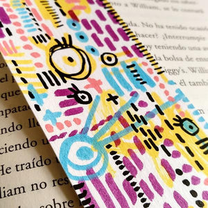 Handmade & Handpainted Bookmark