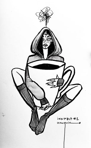 Inktober #2 - Coffee