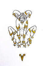 Load image into Gallery viewer, Original Artwork - Aries - Zodiac Series