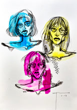 Load image into Gallery viewer, Girls Serie Original Artwork