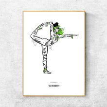 Load image into Gallery viewer, Yoga Series - Natarajasana