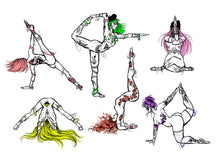 Load image into Gallery viewer, Yoga Series - Together 1