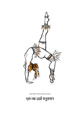 Load image into Gallery viewer, Yoga Series - Eka Pada Urdha Dhanurasana