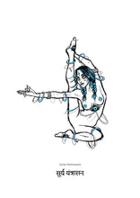 Load image into Gallery viewer, Yoga Series - Surya Yantrasana