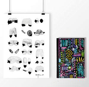 PACK OFFER Print + Notebook