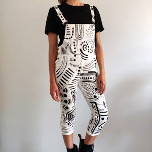 White Pattern Overall - Limited Edition