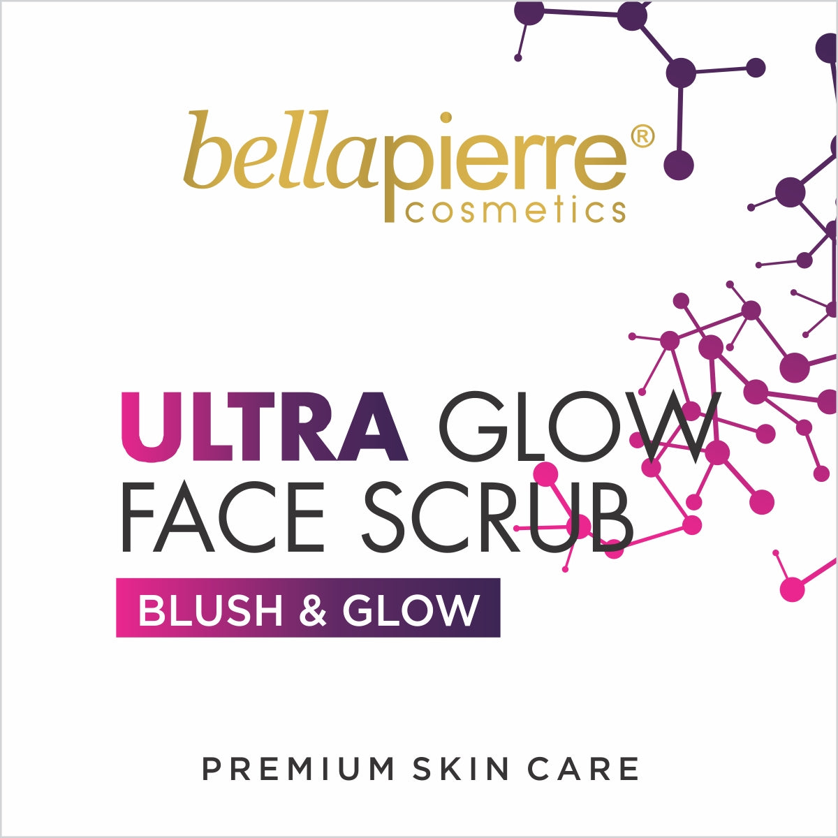 Bella Pierre Ultra Glow Face Scrub for Deep Cleaning and Dead Skin Removal (100 ml)