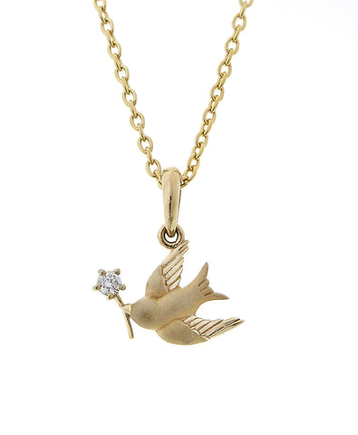 Miniature Bird Pendant