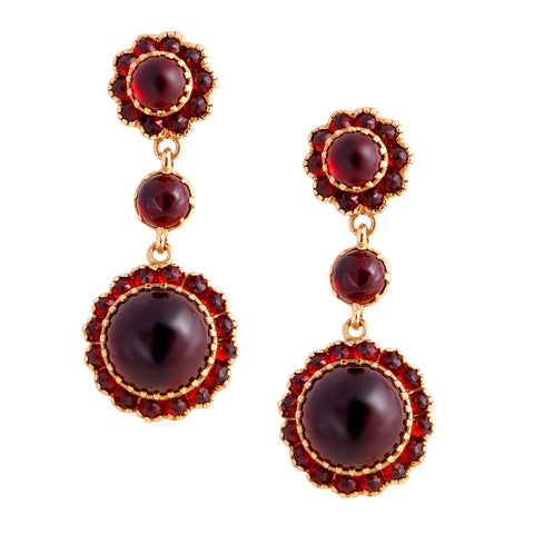Victorian style Medium Drop Earrings