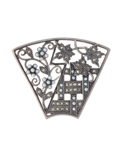 Arabesque Brooch
