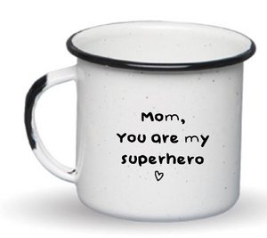 ENAMEL COFFEE MUG MOTHER'S DAY