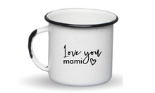 Load image into Gallery viewer, ESPRESSO ENAMEL MUG MOTHERS DAY