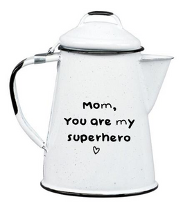 ENAMEL TEAPOT MOTHER'S DAY