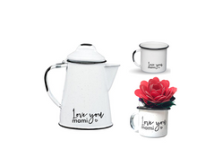 Load image into Gallery viewer, ENAMEL TEAPOT MOTHER'S DAY