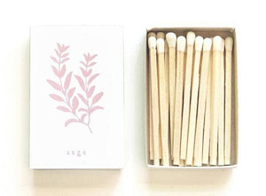 Sage Matchbox - White Box