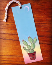 Load image into Gallery viewer, Sunset Cactus Bookmark