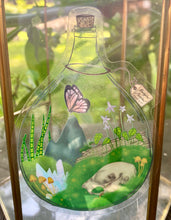 Load image into Gallery viewer, Terrarium Semi-Transparent Sticker